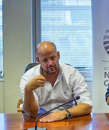 Les membres du gouvernement Christopher Gygès et Vaimu'a Muliava ont officialisé le lancement, le 12 novembre, de Cesam.nc, la nouvelle plateforme dédiée aux entreprises.