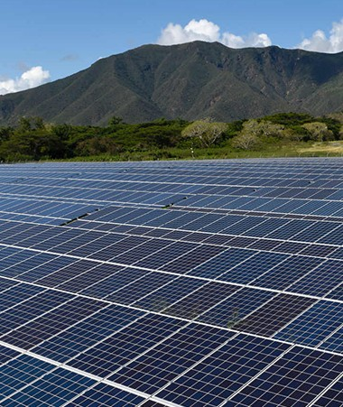 Aujourd'hui, la part des énergies renouvelables dans la production totale d'électricité (y compris celle des usines) est d'environ 10 %.
