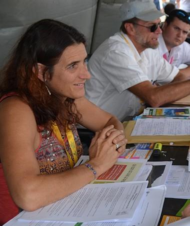Présente à la JNJA, la Davar a informé de nombreuses personnes sur le dispositif des baux ruraux.
