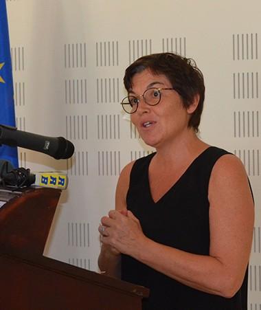 Profitant de la visite de la ministre Annick Girardin, l'ouverture des Assises des Outre-mer a été organisée le 5 décembre à l'Établissement de formation professionnelle des adultes (EFPA).
