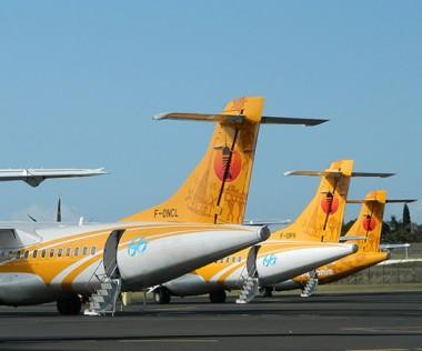 En se portant caution pour Air Calédonie, le gouvernement permettra l'arrivée de deux nouveaux ATR. @P. Saminadin