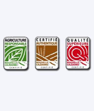 La Nouvelle-Calédonie est désormais dotée de six signes officiels d'identification de la qualité et de l'origine pour les produits alimentaires tels que les fruits, les légumes, la viande, etc.