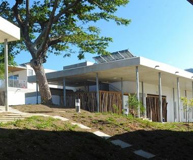 Le Centre international sport et expertise (CISE) de Koutio a été ouvert en 2014.© Patrick Chalas