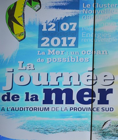 La première Journée de la mer, organisée par le Cluster Maritime Nouvelle-Calédonie, a eu lieu le 12 juillet, à la province Sud.