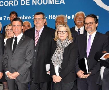 Le Comité des signataires s'est déroulé à l'hôtel Matignon à Paris le 7 novembre (© Photos MNC).
