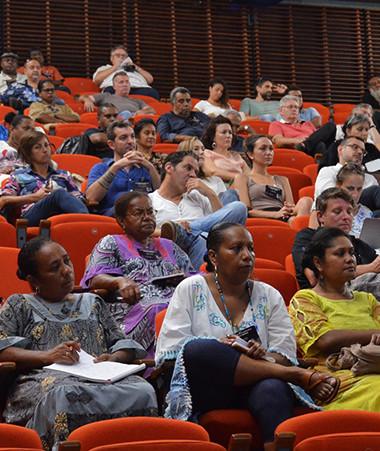 Une centaine de participants étaient réunis dès le premier jour des Assises de la culture.