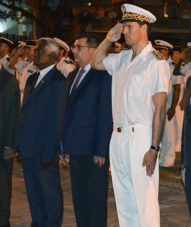 Autorités civiles, militaires et élus ont assisté à la cérémonie.