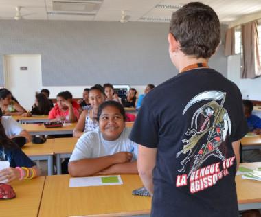 Une action de sensibilisation aux arboviroses a eu lieu le 16 novembre au collège d'Apogoti.