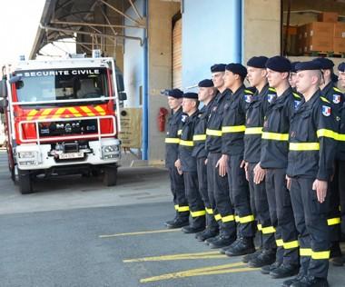 Les sapeurs-sauveteurs des Formations militaires de la sécurité civile (FORMISC) ont été accueillis le 8 novembre à la plate-forme opérationnelle et logistique de la DSCGR à Nouméa.
