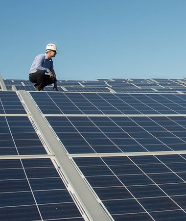 Sept communes sont concernées par ces équipements photovoltaïques : Koumac, Voh, La Foa, Moindou, Païta, Boulouparis et Farino.