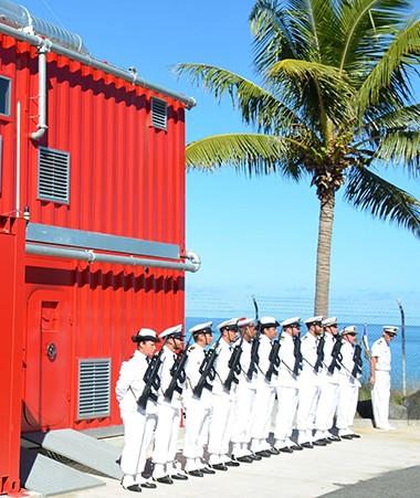 Un simulateur de feux de navires dernière génération, entièrement financé par le gouvernement.