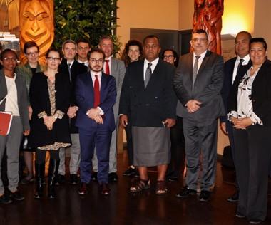 Les représentants des pays et territoires d'Outre-mer et de l'Union européenne réunis pour ce 10e comité de suivi.