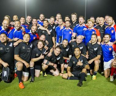 """Le tournoi réunira les """"vétérans"""" de quatre nations : France, Fidji, Australie et Nouvelle-Zélande.  © DR"""