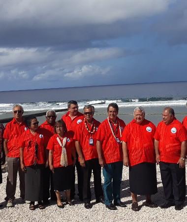 Les membres du FIP réunis à Nauru.