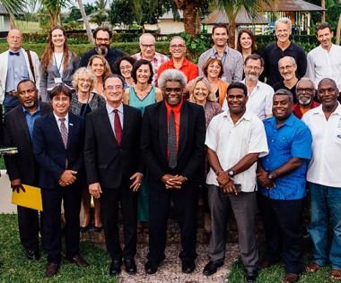 Après dix années de rencontres à Nouméa, les acteurs régionaux de la francophonie se sont donné rendez-vous à Port-Vila. (Photo © Groovy Banana)