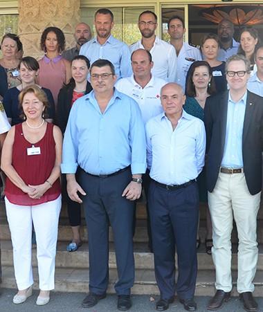 La réunion des partenaires de l'accord FRANZ a rassemblé des délégations venues de France, d'Australie, de Nouvelle-Zélande et de Fidji.