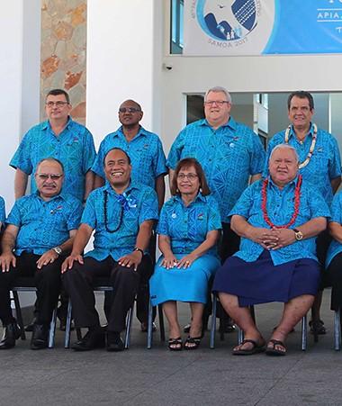 La photo officielle du 48e Sommet du FIP.