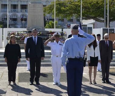 Le président du gouvernement a participé à la cérémonie en mémoire des combattants et de leurs familles.