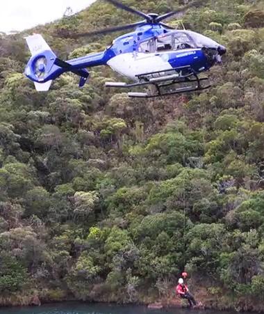 La formation de l'unité des sauveteurs spécialisés héliportés a commencé en septembre.