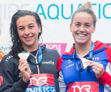 Pour ses premiers championnats d'Europe en eau libre, la championne a décroché le bronze.