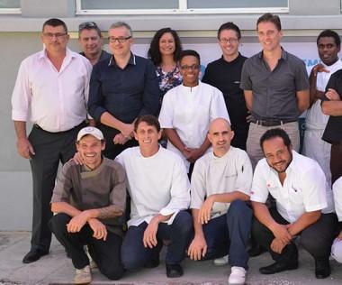 Organisé par Néo Food et Cap Agro NC, avec l'aide de l'EFPA, le déjeuner de lancement des Recettes bénéfiques a eu lieu le vendredi 29 avril.