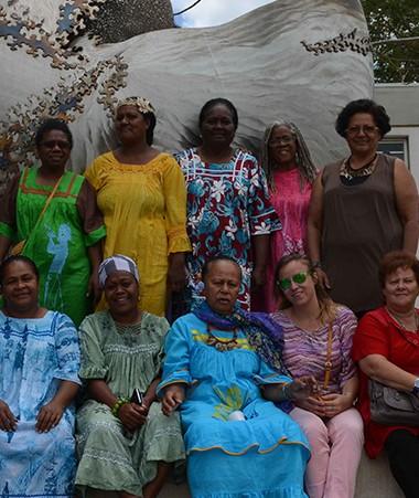 La formation « Comprendre les causes de la violence à l'égard des femmes pour la combattre efficacement » a eu lieu au Centre International Sport et Expertise (CISE), à Dumbéa.