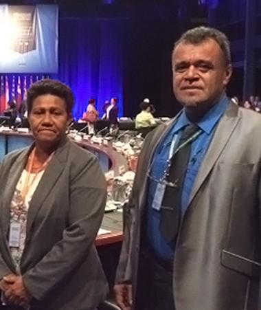 La délégation calédonienne à la 68e session du comité régional de l'OMS, du 9 au 13 octobre à Brisbane.