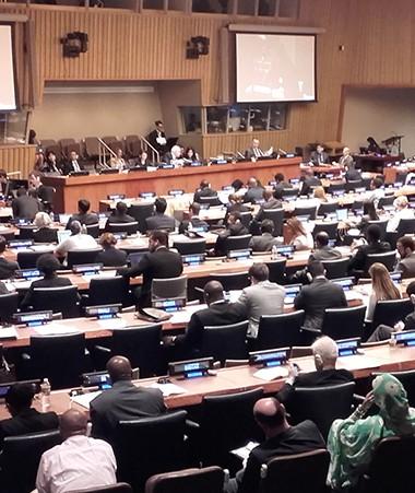 La 4e Commission de la 72e Assemblée générale des Nations unies.