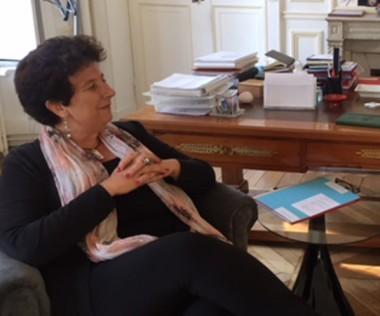Frédérique Vidal et Philippe Germain se sont entretenus longuement.