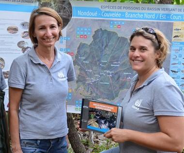 L'équipe de la Davar en charge de ce projet. De gauche à droite : Jennifer Monnier, Valérie Gentien et Typhaine Quéré.