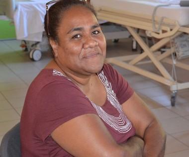 Jeannette Issamatro, 47 ans, est actuellement en formation d'aide-soignante à l'IFPSS.