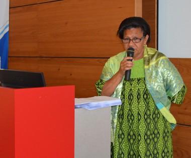 À l'auditorium du centre administratif de la province Sud, Valentine Eurisouké a ouvert le comité de pilotage des États généraux de la jeunesse, puis son comité technique.