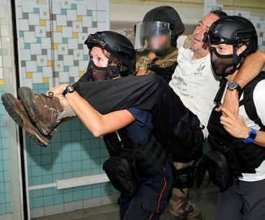 La Sécurité civile a organisé des exercices aux techniques d'intervention en milieu hostile dans l'ancien CHT Gaston-Bourret.