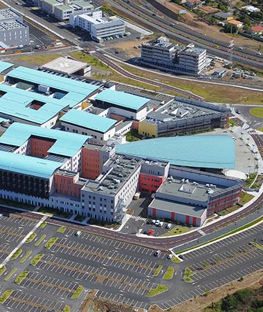 Le Médipôle constitue le plus gros marché public passé par la Nouvelle-Calédonie (©SECAL).