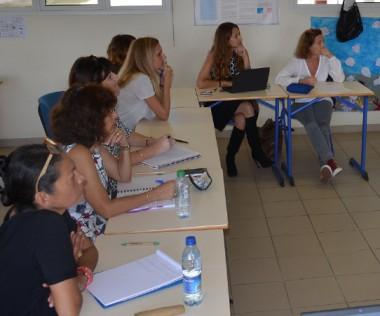 Les travaux du Carrefour des programmes se sont déroulés en groupe, par discipline (français, EPS, mathématiques, sciences, etc.).
