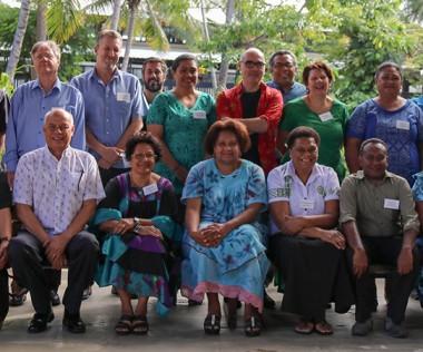 Les participants étaient réunis au siège de la Communauté du Pacifique (CPS) à Nouméa (© CPS).