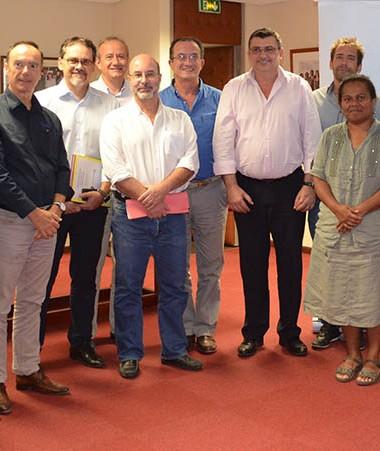 La signature de la convention avec les quinze nouveaux partenaires de service-public.nc a eu lieu jeudi 29 septembre, au gouvernement.