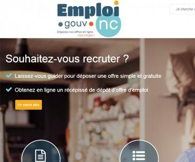 Le site www.emploi.gouv.nc offre un nouveau téléservice pour le dépôt des offres d'emploi conformément à la réglementation.