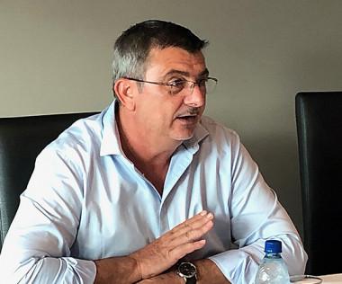 Le président Philippe Germain et le directeur des Affaires économiques, Lionel Borgne, ont présenté un bilan de la TGC à la presse, jeudi 21 mars.
