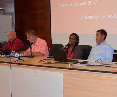Hélène Iékawé a donné le coup d'envoi de la formation des professeurs de collège à l'enseignement de la culture kanak.