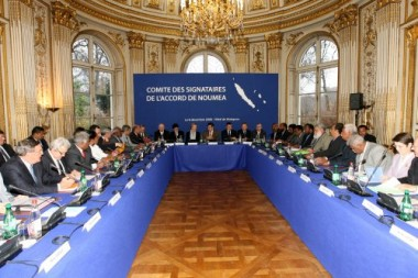 Comité des signataires de l'accord de Nouméa à PARIS