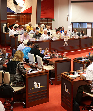 Les membres du gouvernement ont participé les 16 et 17 septembre à l'examen par le Congrès des trois volets du budget supplémentaire pour l'année 2020.