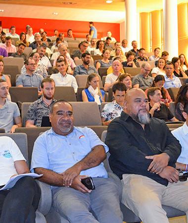Avec 165 participants lors de cette édition, la journée du club géomatique remplit chaque année davantage l'auditorium du Centre administratif de la province Sud.