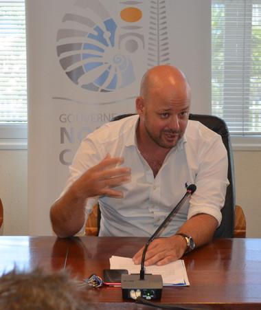 Le président du Medef, Samuel Hnepeune, et le président de la CCI, David Guyenne, étaient notamment présents aux côtés du membre du gouvernement en charge de l'économie, Christopher Gygès.