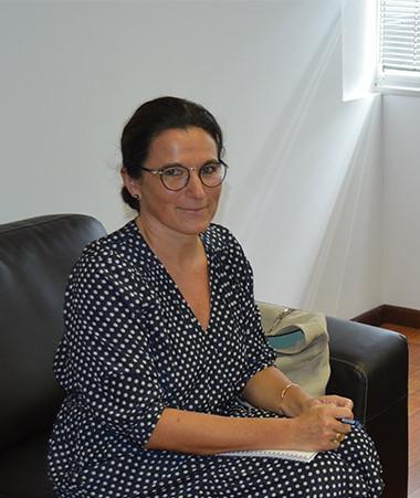 La rencontre entre Anne Baille et Isabelle Champmoreau s'est déroulée au gouvernement.