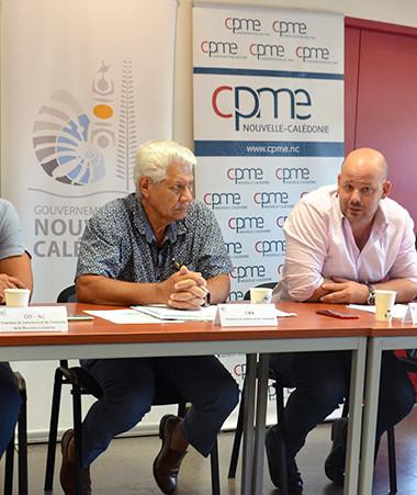 « Ce plan est porté conjointement par le gouvernement, les provinces les chambres consulaires et les organisations patronales », a déclaré Christopher Gygès.
