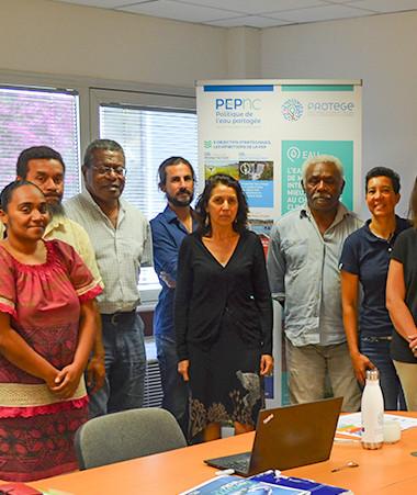 Les membres du comité de l'eau se sont réunis au gouvernement.
