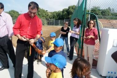 Koné inaugure son centre tennistique