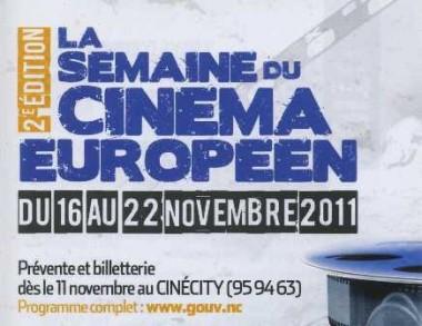Semaine du Cinéma Européen.