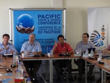 La 2e Conférence de la Jeunesse et des Sports du Pacifique en préparation.